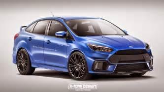 Ford Focus Rs News 2016 Ford Focus Rs Sedan Digitally Imagined Autoevolution