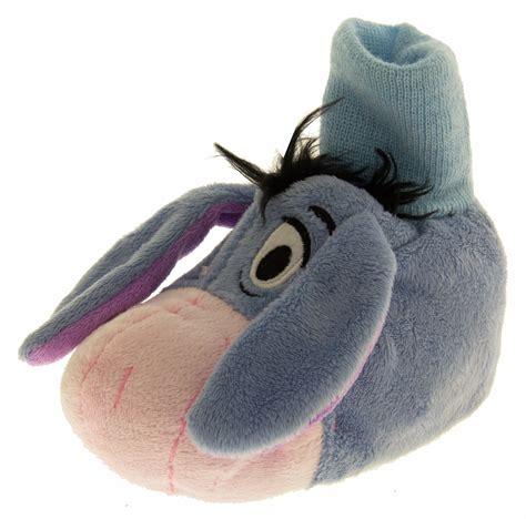 eeyore slippers boys disney novelty slippers eeyore winnie the pooh