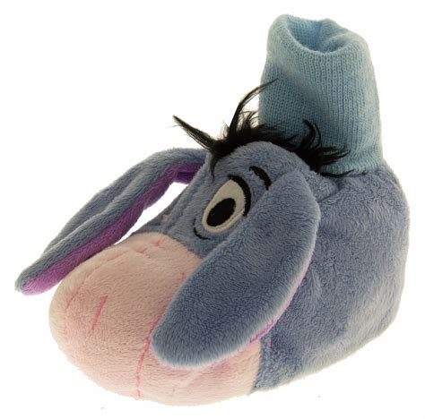 size 4 baby slippers boys disney novelty slippers eeyore winnie the pooh