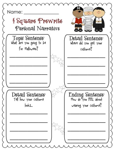 Writing Worksheets For 2nd Grade by 107 Best Narrative Writing Images On