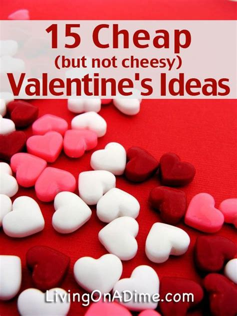valentines ideas for cheap quotes about 15 cheap but not cheesy s day