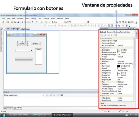 imagenes visual basic 2008 entorno de visual studio 2008 ide vanguarsoft