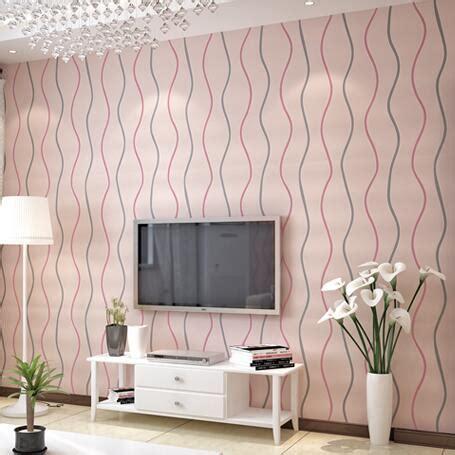 Striped Wallpaper Designs For Living Room