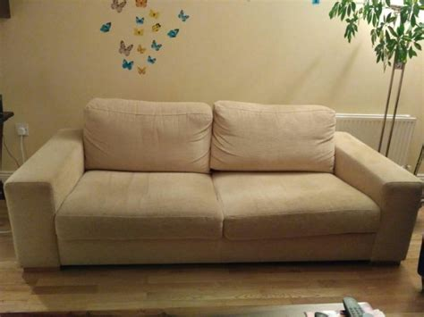 beige sofas for sale 3 seats beige sofa for sale in swords dublin from luciale