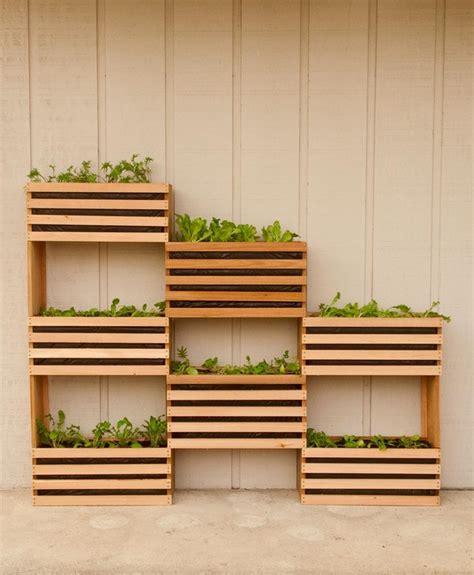 Vertical Garden Diy Home Depot - o 249 trouver des caisses de bois pour sa d 233 co d 233 conome