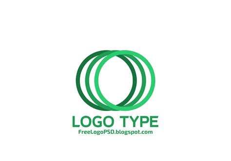 14 round logo templates psd images circle logo design