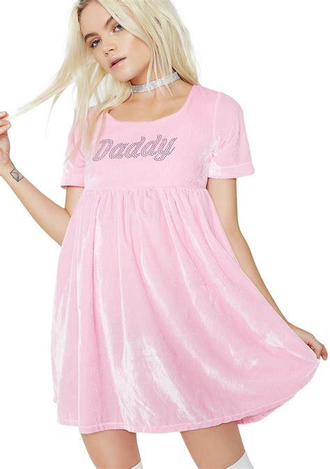 Dress Babydoll o mighty velvet babydoll dress dolls kill