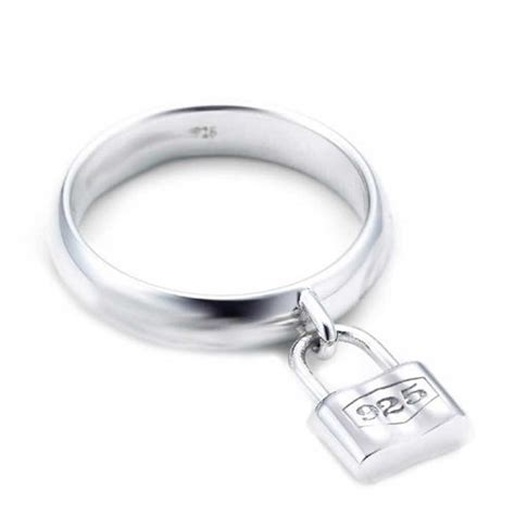 bling jewelry 925 sterling silver lock charm padlock style