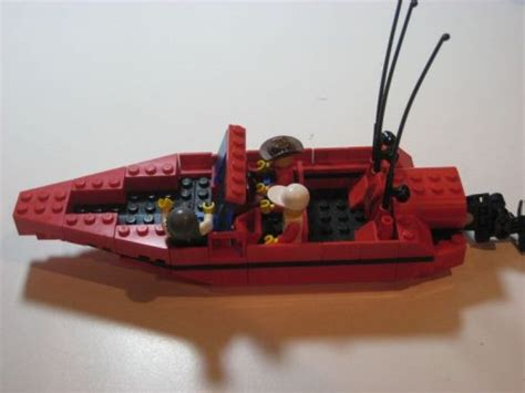 bass boat a lego 174 creation by viral porqupine mocpages - Lego Bass Boat