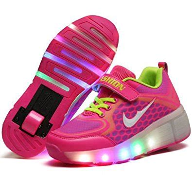 shoes led light roller skate sneakers with wheels