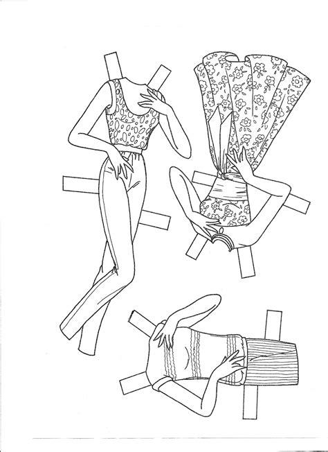 paper dolls dress barbie   island cruise