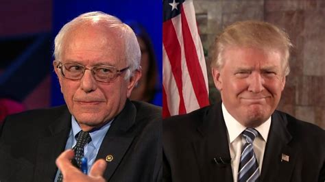 bernie sanders releases statement trump tapped into the anger of a bernie sanders says he ll work with trump on some issues