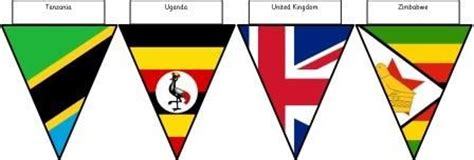 printable bunting flags of the world 384 best images about school projects on pinterest stone