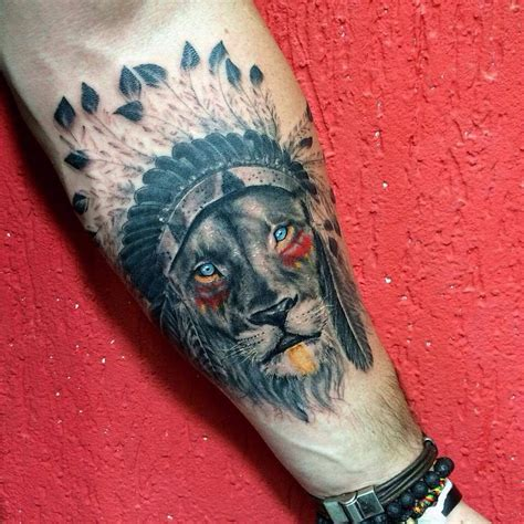 indian lion tattoo tattoos