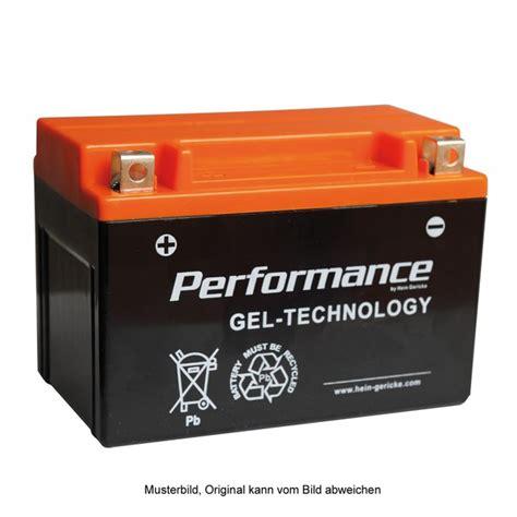 Motorrad Shop Hein Gericke by Hein Gericke Performance Gel Batterie Ytx12 Bs Von Hein