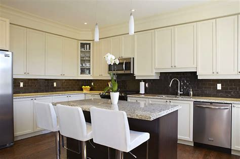 two tone modern kitchen modern two tone kitchen modern kitchen toronto by
