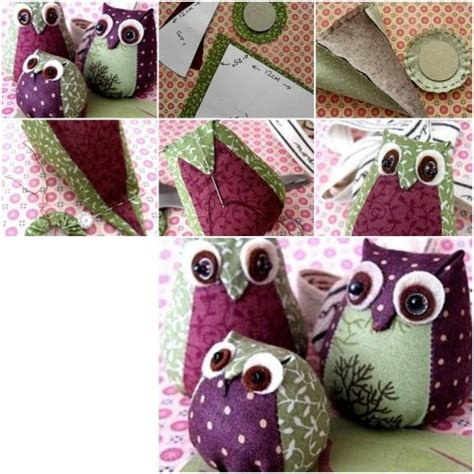 fabric crafts easy how to make easy fabric owl step by step diy tutorial