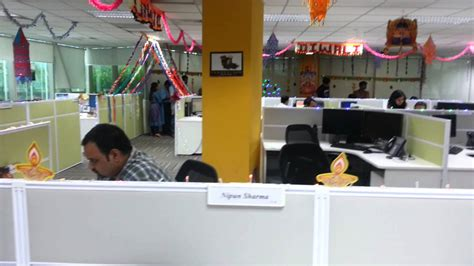 diwali 2012 decoration in office