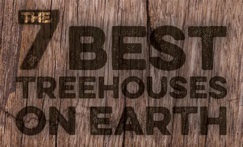 best tree houses infographic the 7 best treehouses on earth inhabitat green design innovation