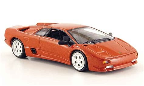 Lamborghini Diablo Model Car by Lamborghini Diablo Kupfer Minichs Diecast Model Car 1