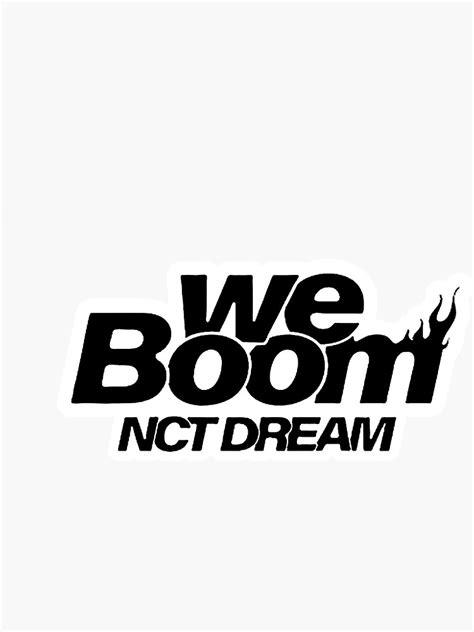 'NCT Dream We Boom Sticker' Sticker by hundorado | Kartun
