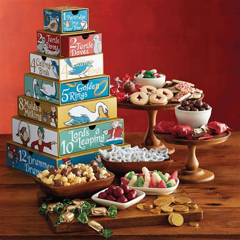 12 days of christmas gift tower great gifts for