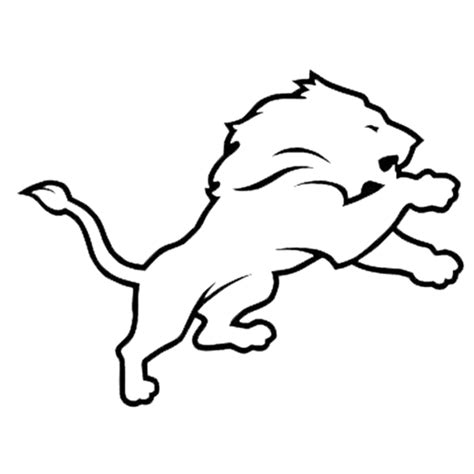 coloring pages detroit lions free coloring pages of nfl lions