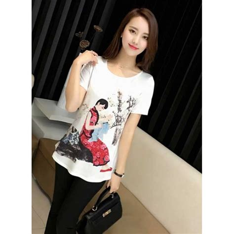Kaos Fashion Import 47 kaos wanita import t3113 moro fashion