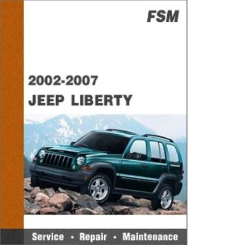 service manual free download of a 2007 jeep liberty service manual service manual free