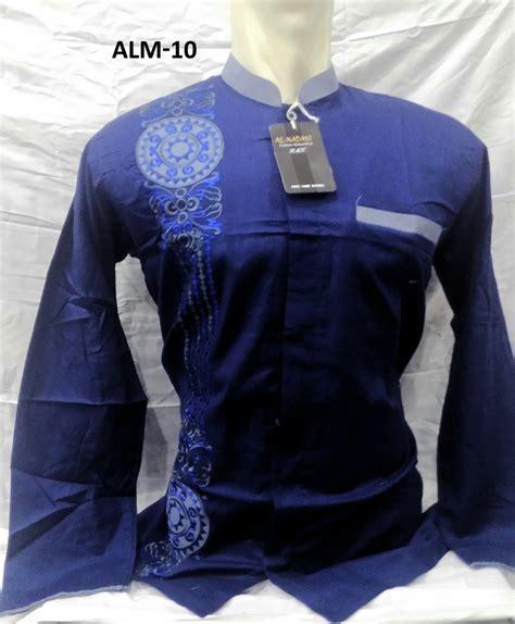 Baju Koko Muslim Lengan Panjang Murah Berkualitas 12 warna baju koko al madani lengan panjang murah