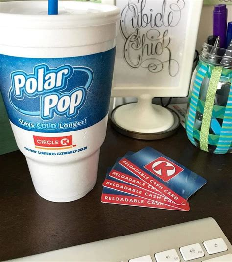 Circle K Gift Card - win a 100 circle k gift card stay cool at work polarpopcup4life ad