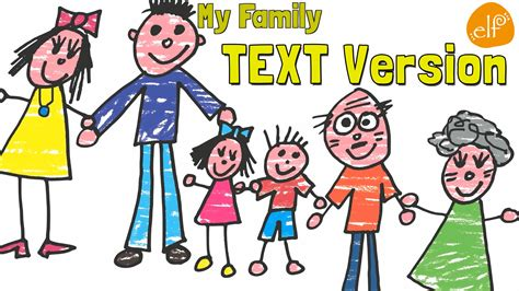 you learn testo family song for with lyrics my family and me by