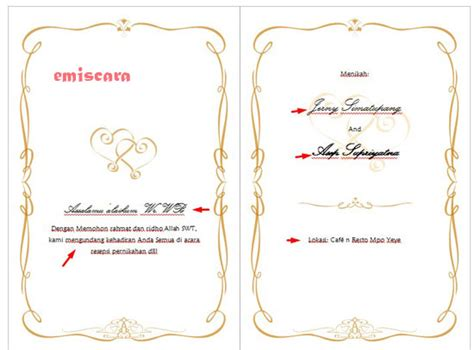 cara membuat opini hukum cara membuat contoh undangan pernikahan sederhana dengan