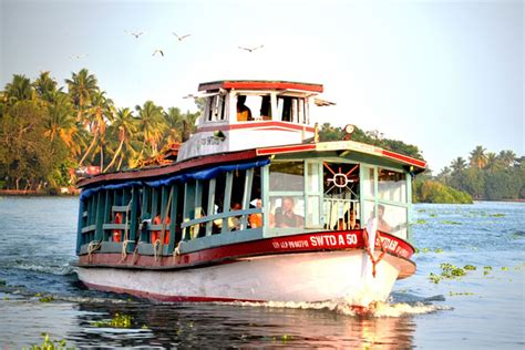 boat service from ernakulam to kozhikode water transport in kerala inland water transport