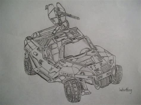 halo warthog drawing halo warthog by josiahherman on deviantart