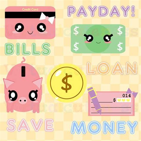 kawaii clipart best 25 money clipart ideas on kawaii