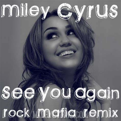 See You Again Miley Cyrus Remixed by Breakout Fanmade Single Covers Contest 6 See You