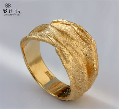gold wedding band 18k gold band 14k gold thick by