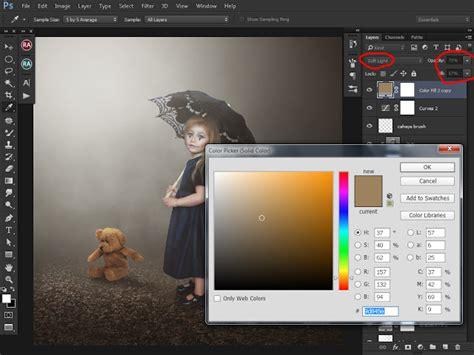 cara membuat garis di photoshop cc efek manipulasi dengan gaya mistis