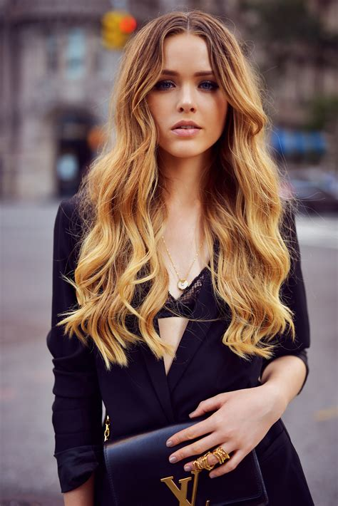 hair pic blogger of the week kristina bazan of kayture