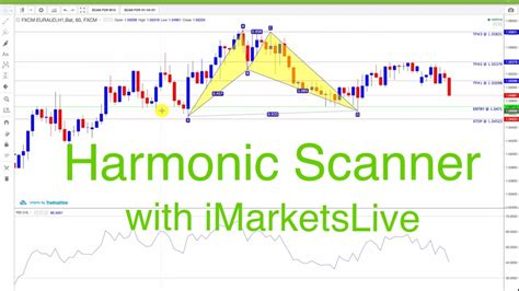 harmonic pattern forex youtube forex harmonic pattern scanner with imarketslive how to