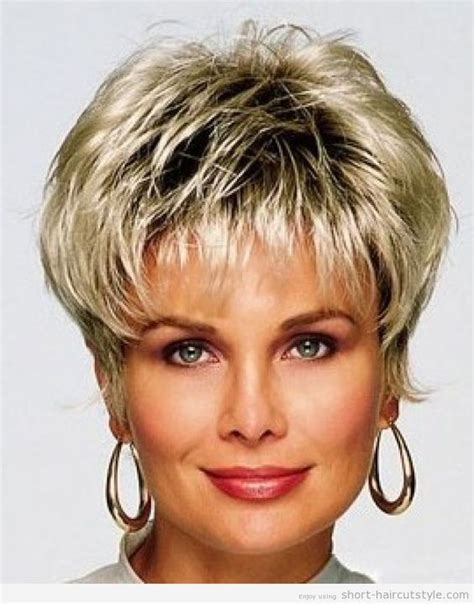 shaggy layed bob for over 40 plus size short hairstyles for women over 40 short