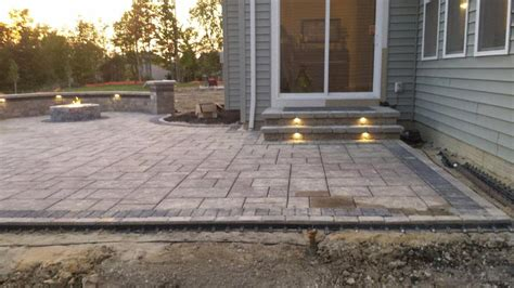 Patio Contractors by Baron Landscaping 187 Outdoor Lighting Contractor Cleveland