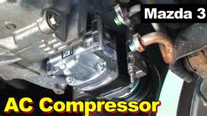 2009 mazda 3 ac compressor replacement