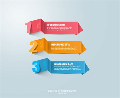 Timeline Infographics Templates For Powerpoint free psd modern infographic origami by muhiza on deviantart