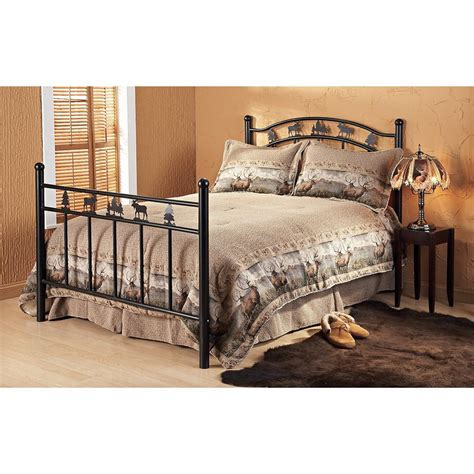 Headboard Footboard Set by Lodge Bed Headboard Footboard 121374 Bedroom Sets At Sportsman S Guide