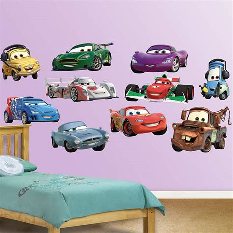 Disney Cars Wall Decor by Disney Pixar Cars 2 Collection Fathead Wall Decal