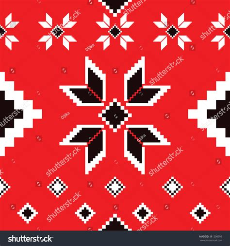 seamless european pattern seamless ethnic geometric pattern folklore rug pattern