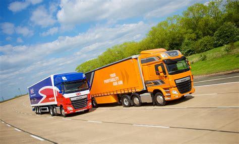driver challenge paul barlow wins daf transport efficiency driver challenge