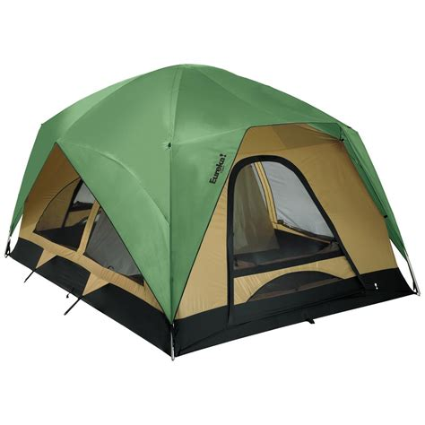 cabin tents eureka 174 titan 8 person tent 118830 cabin tents at